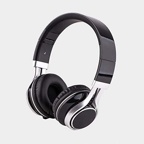 XHKCYOEJ Headset Stereo Headset/Headphones/Headphones/Folds/Mobile/Wired,Black: Amazon.co.uk: Electronics