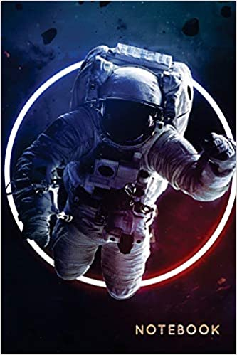 Notebook College Ruled Astronaut Notebook Journal 120 Pages 6x9