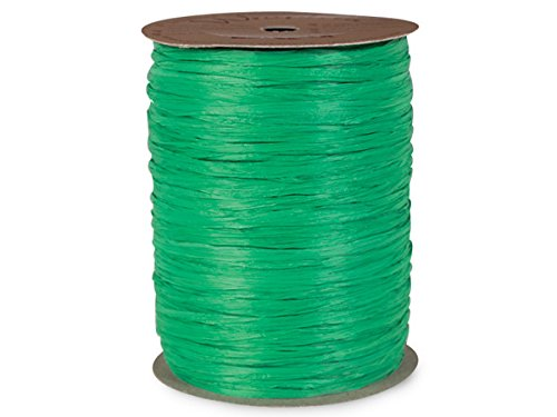 Matte Kelly Raffia500 yds Kelly Matte