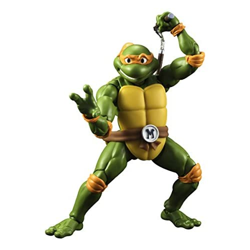 Las Tortugas Ninja - Michelangelo figura, 15 cm (Bandai BDITM095088 ...