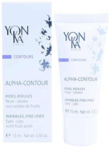 YON-KA - Contours Alpha-Contour - Avant-Garde Technology Gel for Eyes and Lips Against the Signs of Aging (0.5 Ounce / 15 Milliliters)