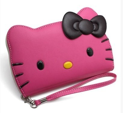 iPhone 6s Plus Case, Hello Kitty 3D Wallet Case Apple iPhone