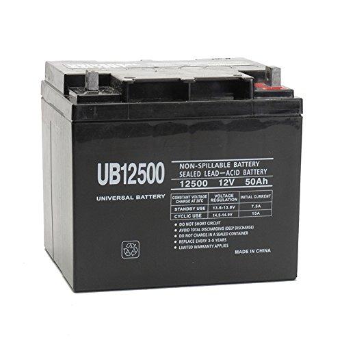 Universal Power Group UPG 12V 50AH Sealed Lead-Acid ()