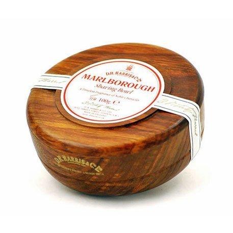 Marlborough Mahogany Shave Bowl (100g) by D.R HARRIS