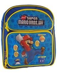 Super Mario Bros. Medium BackPack - Mario Medium School Bag