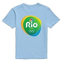 KNOT Men's Rio2016 Rgb Container Gradient Pre-cotton Design T-Shirt