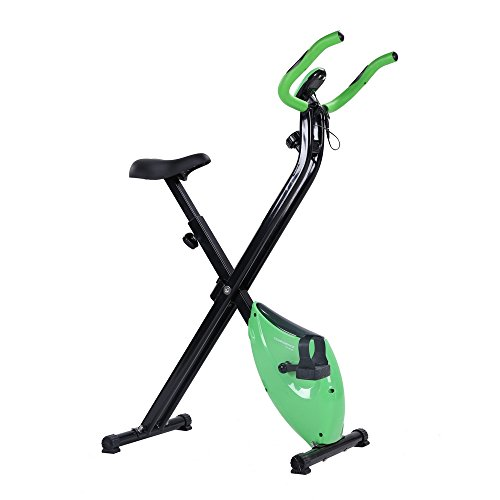Confidence Fitness Confidence Folding X-Bike Green Confidence Folding X-Bike