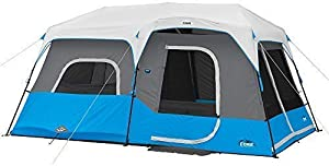 Core Lighted 10-Person Instant Cabin Tent with Screen Room