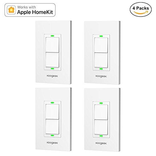 Koogeek Smart 2-Gang WiFi Light Switch by Koogeek (Image #8)