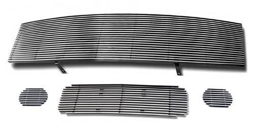Fits 2004-2007 Nissan Armada Billet Grille Grill Insert Combo # N81196A