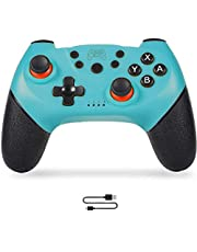 Sefitopher Wireless Switch Pro Controller Gamepad Joypad Remote Switch Controller Joystick Compatible for Nintendo Switch Console and PC,Support Gyro Axis Turbo and Dual Vibration
