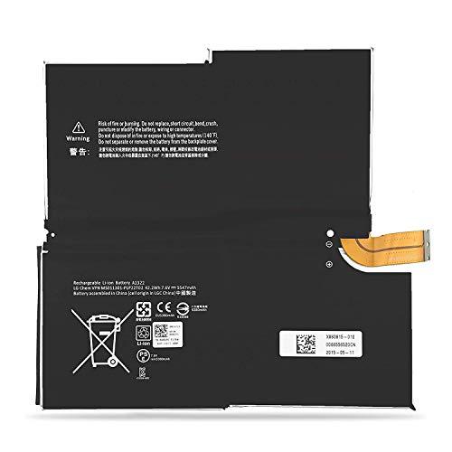 BatteryMon Battery for Microsoft Surface Pro 3 1631 1577-9700 Tablet, G3HTA005H G3HTA009H MS011301-PLP22T02 (7.6V - 3 Tablet Pro