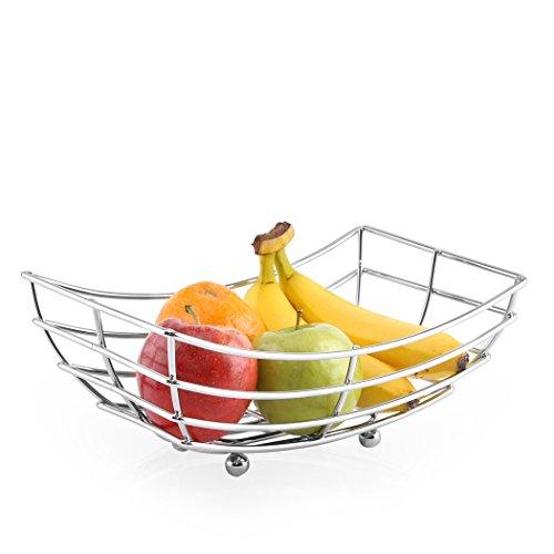 Chrome Fruit Basket (BINO 'Metro' Chrome Fruit Basket)
