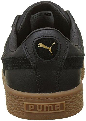 Basses puma Black Noir Deluxe Black Gum Ps Puma Mixte Basket Classic Sneakers puma Enfant xH6qqAUwg