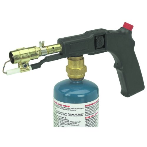 (Electric Start Propane Torch with Push-button electric starter)