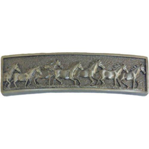 Sierra Lifestyles SL-681489 Pewter Running Horse Pull