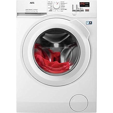 AEG L6FBA494 energieeffiziente Waschmaschine Frontlader / 173 kWh pro Jahr / Weiß / ProTex Schontrommel (9 kg) schützt hochwe