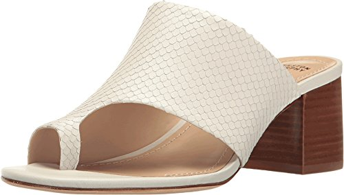Johnston & Murphy Women's Kelsey Toe Ring Sandal, Off Off White, 8.5 M US