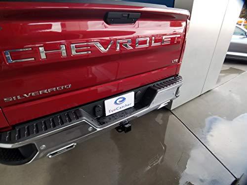 EyeCatcher Tailgate Insert Letters for 2019 Chevrolet Silverado ()