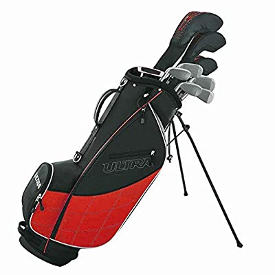 Wilson Golf Men's 2017 Ultra Package Set, Right Hand, Red