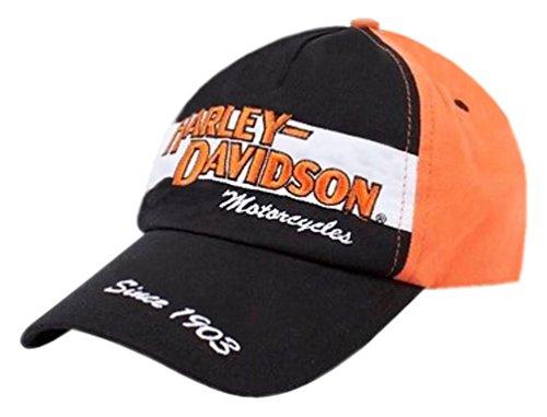 (Harley-Davidson Little Boys' Baseball Cap, Toddler Prestige Twill Hat 0270282 Black)