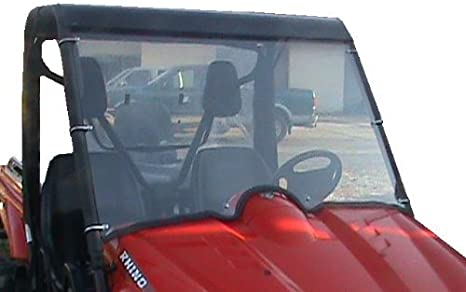 QUADGEAR INSTANT VINYL FRONT CLEAR WINDSHIELD YAMAHA RHINO 450 660 700