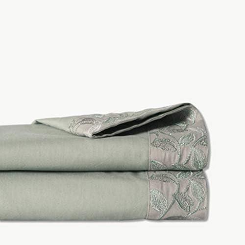 WSWJJXB Sábanas de Lija Acolchadas de algodón Láminas cálidas de Color sólido de algodón 1.2/1.5 m (Color : H, Tamaño : 160X250cm): Amazon.es: Hogar