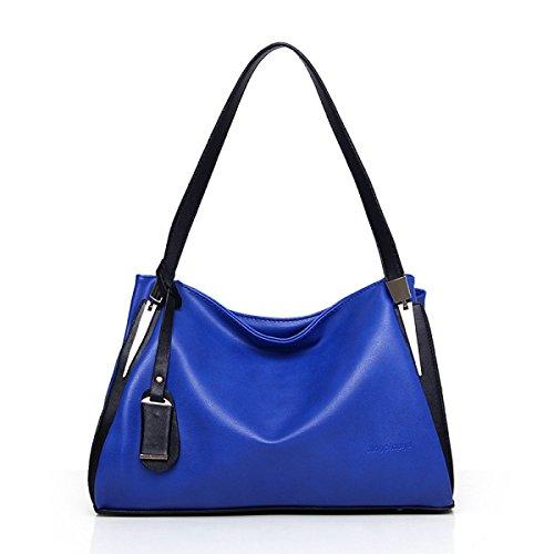 ZHANGYUQI Mode Européenne Et Américaine De Grande Capacité Paquet Diagonale Portable,Blue-one