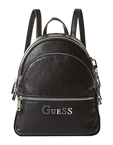 Guess Guess Noir large backpack large backpack Guess black Noir black qvwafEX