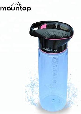 Purificador de agua portátil Mountop (750 ml) – Sistema de ...