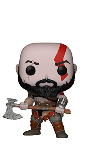 Funko Pop Games: God of War-Kratos with Axe Collectible Figu