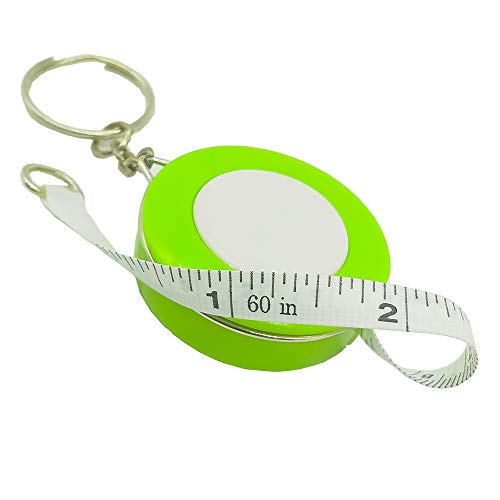 (Tape Measure Retractable Measuring Tape for Cloth Body Measuring Tape and The Dual Sided Tape Measure for Sewing Tailor Fabric Measuring Tape (Green) )