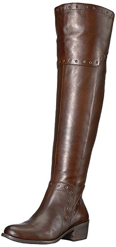 Vince Camuto Women's BESTAN Over The Over The Knee Boot, Carob, 6.5 Medium US