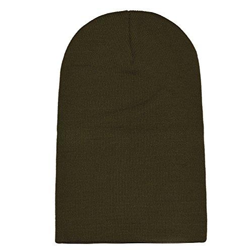 beanie gorro slouch de suave abrigo moderno DonDon invierno y Oliváceo gorro clásico diseño de T0Ywtq