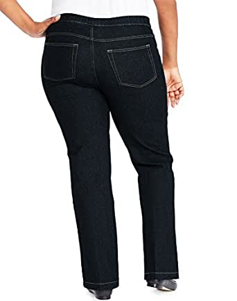 Just My Size Womens 4-Pocket Bootcut Jeans, Average Length ...