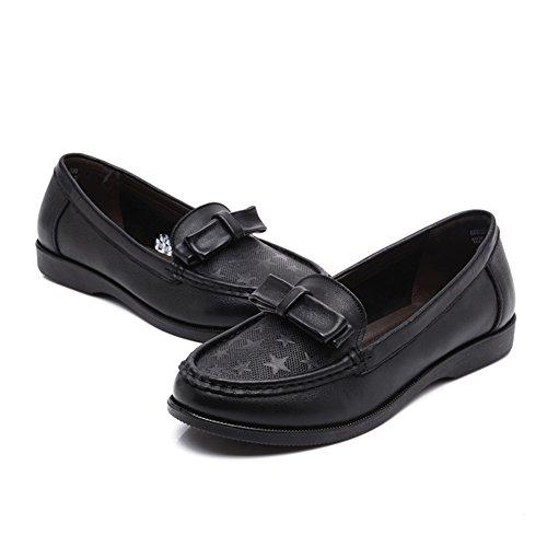 Primavera Ocio mujeres zapatos asakuchi/ fondo suave con zapatos de mujeres de mediana edad/Zapatos de mamá/Zapatos de moda A