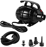 Electric Air Track Pump Multi-functional Inflatable Pump for Rubber Boat Style4