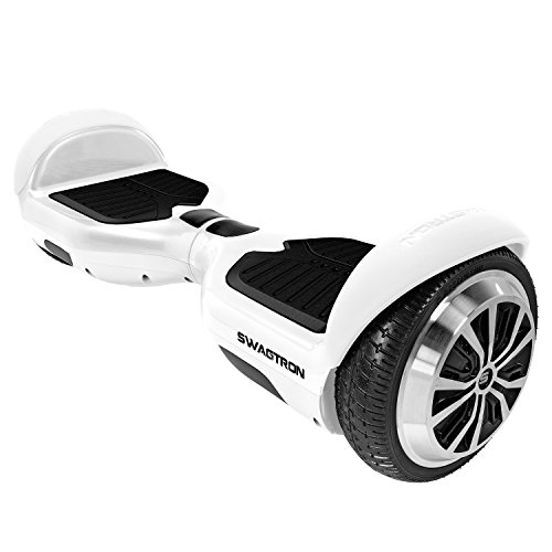 SWAGTRON T1 - UL 2272 Certified Hoverboard - Electric Self-Balancing Scooter White