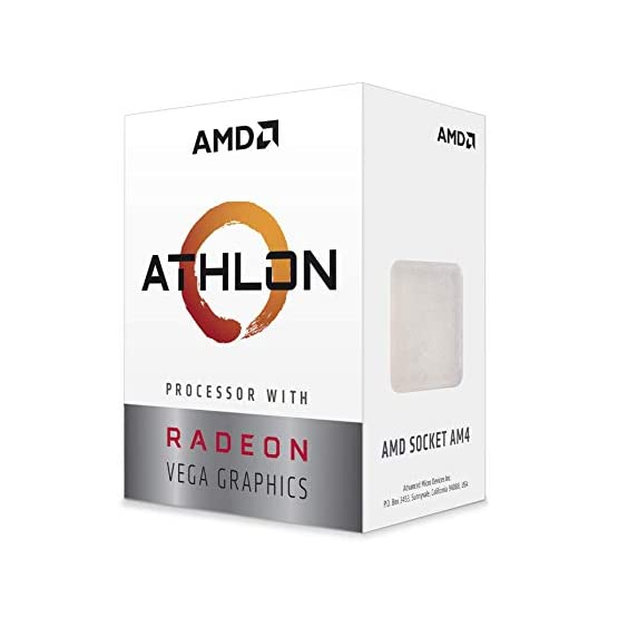 AMD Athlon 3000G 2-Core, 4-Thread Unlocked Desktop Processor with Radeon Graphics 41 kIRSSg2L. SS555