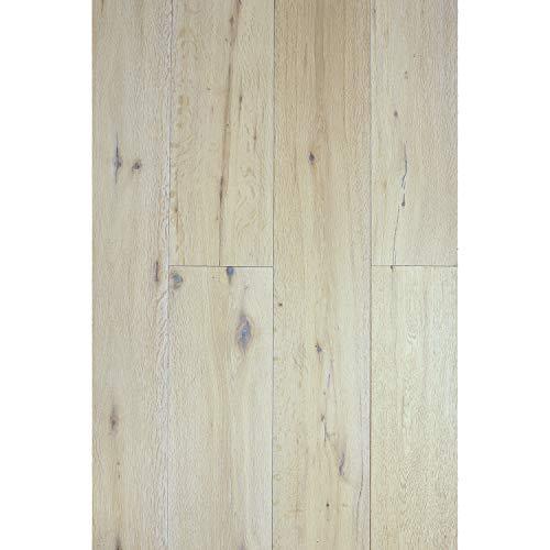 Oak Engineered White Flooring - ADM Flooring - Vintage Ivory - 7.5