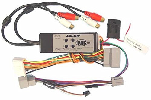 PAC AAI-CHY Dual Auxiliary Audio Input For 2005+ Chrysler (Pac Auxiliary Audio)