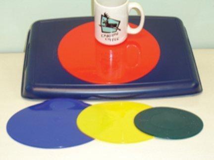 Dycem 21,6 cm rutschfest Zirkular Pad (blau) (blau) Pad von Dycem d8bdca