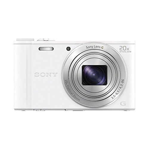 Sony DSCWX350 Digital Compact Camera with Wi-Fi and NFC (18.2 MP, 20x...
