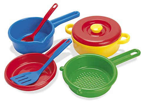 American Educational Products DT-4206 Pot, Sieve and Pan Activity Set, 3.904