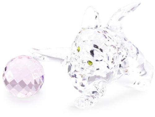 Swarovski Crystal Crystal Kitten Standing 631856