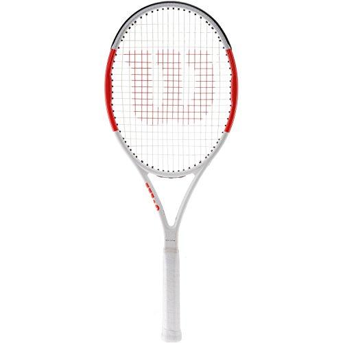 Wilson Six.One Team 95 Tennis Racquet - Strung (4 1/8)