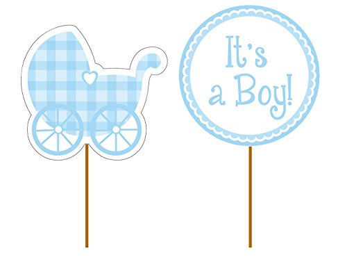 Baby Stroller Baby Shower Cakes - 7