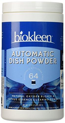 Biokleen Automatic Dish Soap Powder - 32 oz - Citrus