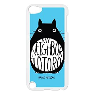 iPod Touch 5 Case White My Neighbor Totoro abom