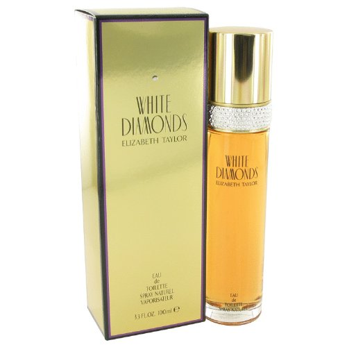 Elizábeth Táylor Whíte Diämonds Perfumë For Women 3.3 oz Eau De Toilette Spray + FREE Shower Gel